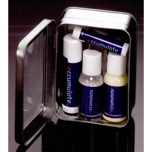 Promotional Business Gift Set in Frosted Pouch