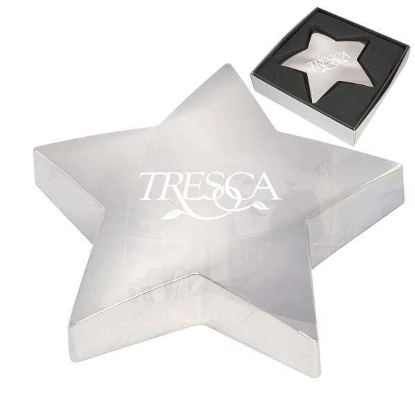 Customized Shining Star Paper Weight