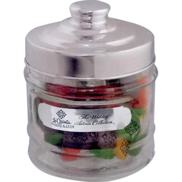 Personalized Printed Candy Apothecary Jar - Sugar Free Mints