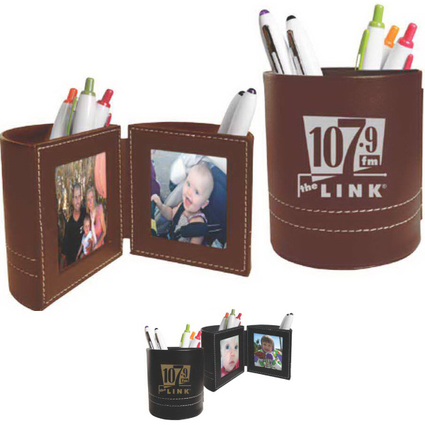 Promotional Leatherette Folding Caddy