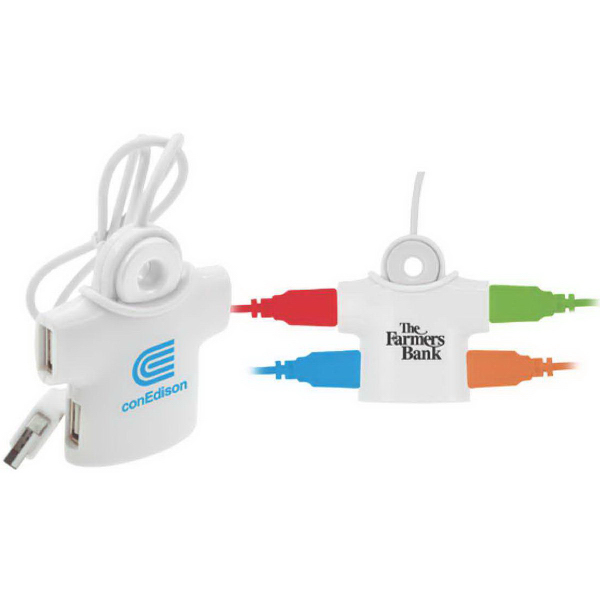 Personalized T-Shirt USB Hub