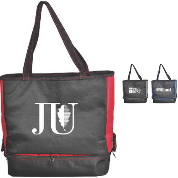 Printed Tote and Lunch Bag Combo
