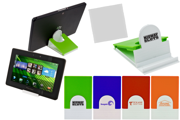 Customized Tablet Stand & Cleaner