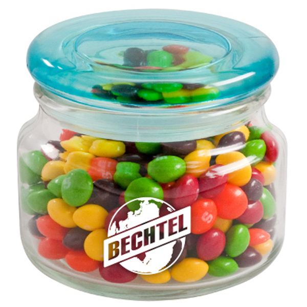 Imprinted Color Top Candy Jar - Hard Candy