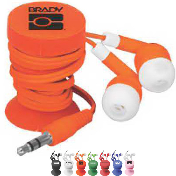 Personalized Ear Buds With Ear Bud Buddy