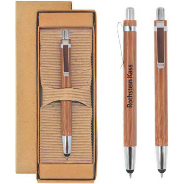 Customized Bamboo Pen/Stylus
