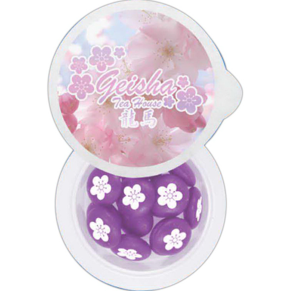 Customized Small 4 Color Cup of Candy - Chewy Sprees