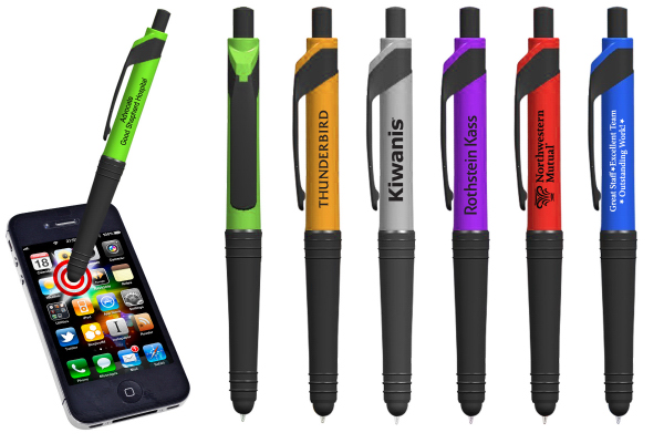 Promotional Rio Black Tip Stylus Pen