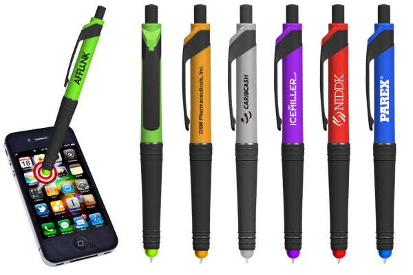 Customized Copa Color Tip Stylus Pen