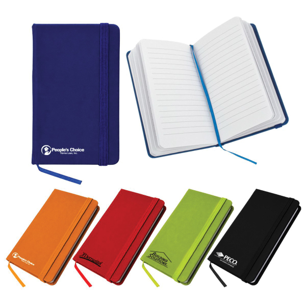 Promotional Small Elastic Closure Notebook