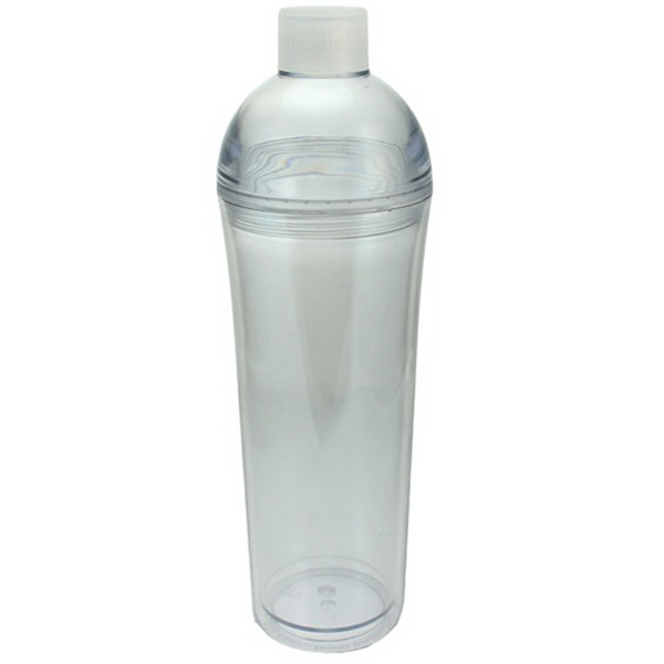 Customized Acrylic Double Wall Water Bottle