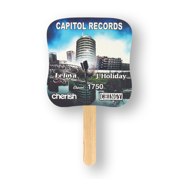 Promotional Fan - Mini Hand Fan - Palm