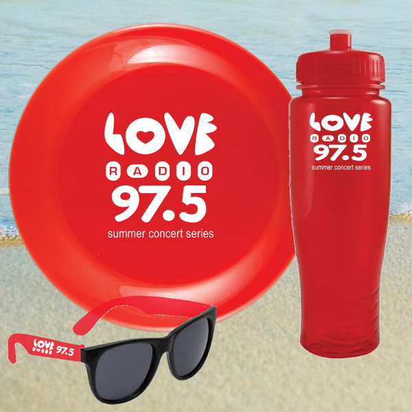 Promotional BEACH KIT 28 RED