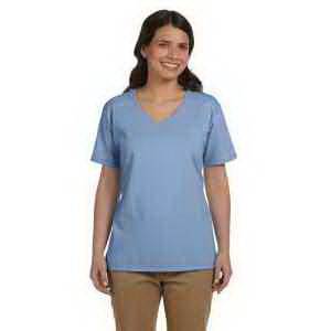 Customized Ladies' 5 oz. ComfortSoft (R) Cotton T-Shirt