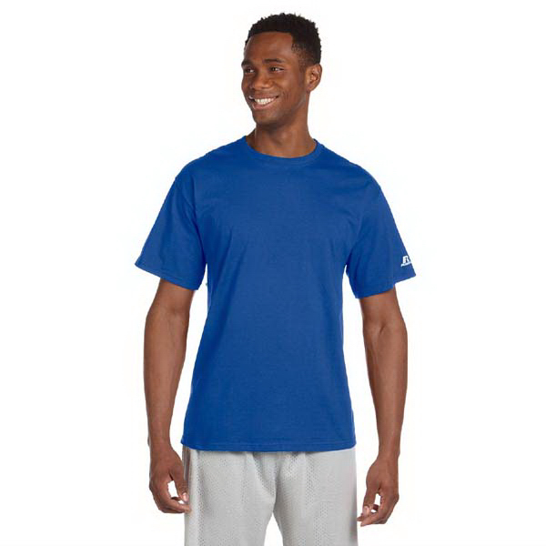 Printed Russell Athletic (R) Short Sleeve Cotton T-Shirt
