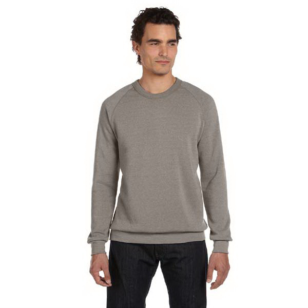 Imprinted Alternative Unisex Long Sleeve Basic Fleece Crew