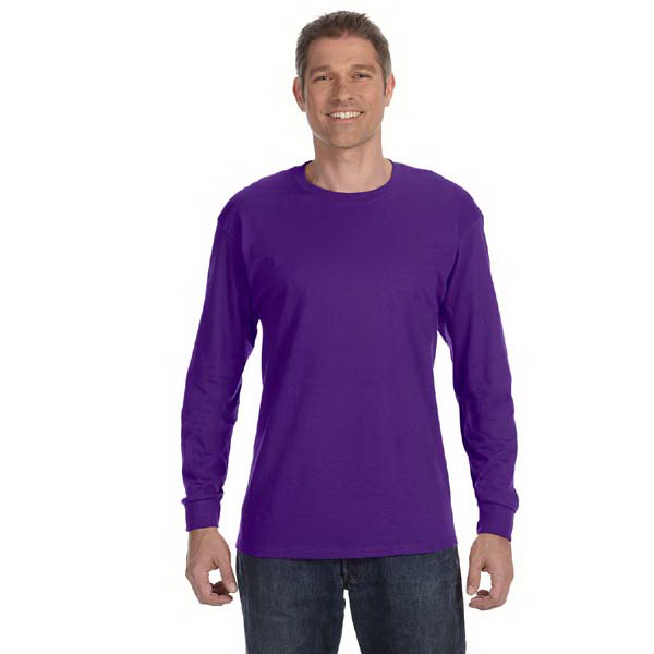 Promotional Gildan 5.3 oz Heavy Cotton Long-Sleeve T-Shirt