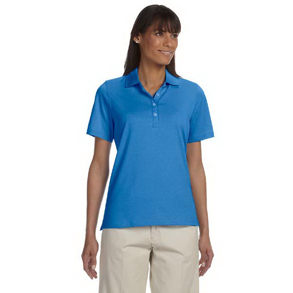 Promotional Ladies' High Twist cotton tech polo
