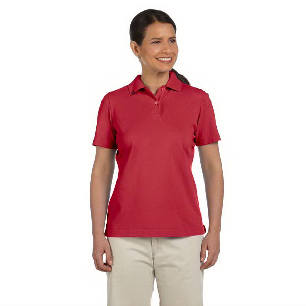 Personalized Ladies' EZ-Tech pique polo