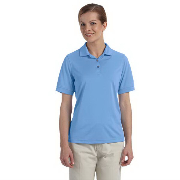 Personalized Ladies' performance wicking pique polo