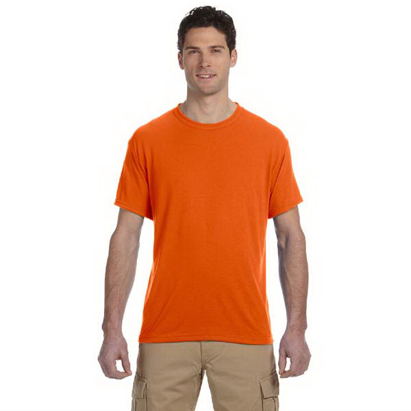 Personalized Jerzees 5.3 oz. 100% Polyester Crew T-Shirt