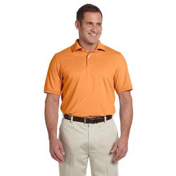 Custom Men's combed cotton pique polo