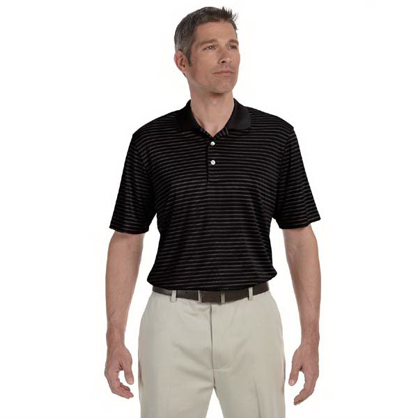 Customized Ashworth Men's Performance Interlock Stripe Polo