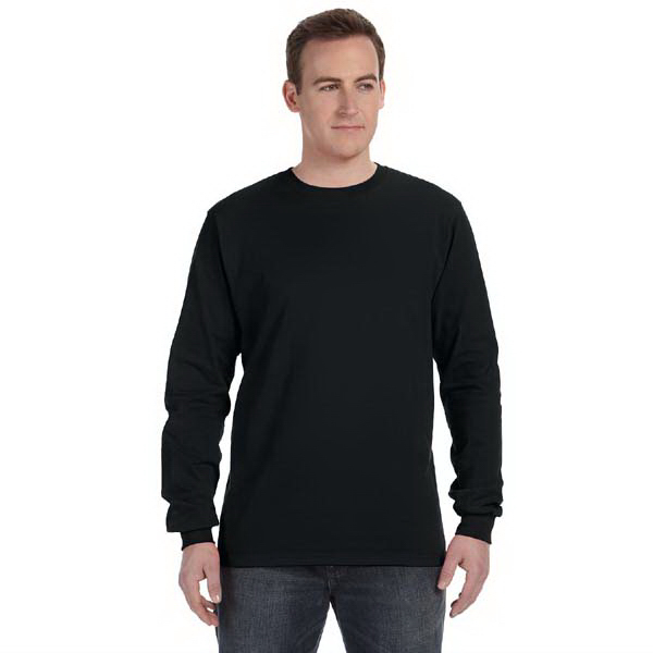 Custom 5 oz. 100% organic cotton long sleeve t-shirt