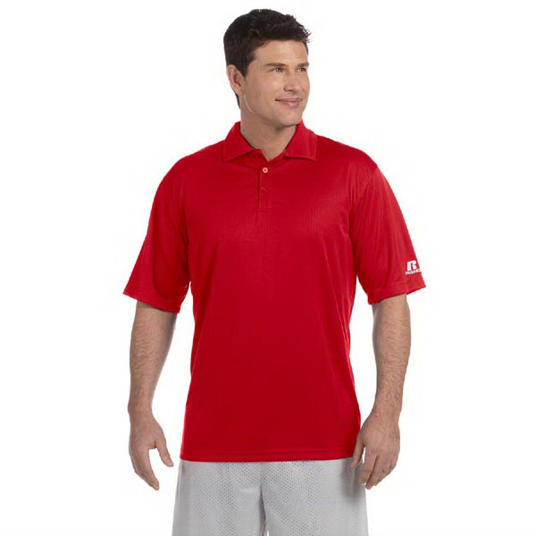Personalized Russell Athletic Men's Team Essential Polo