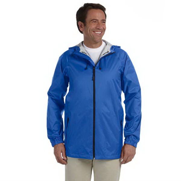 Personalized Devon & Jones Men's Nylon Rip-Stop Rain Jacket