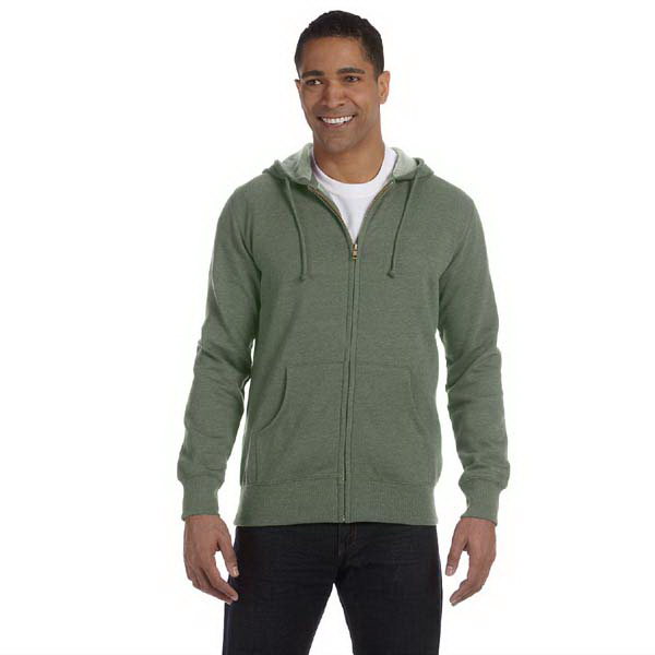 Personalized Econscious 7 oz. Unisex Organic/Recycled Heathered Full Zip