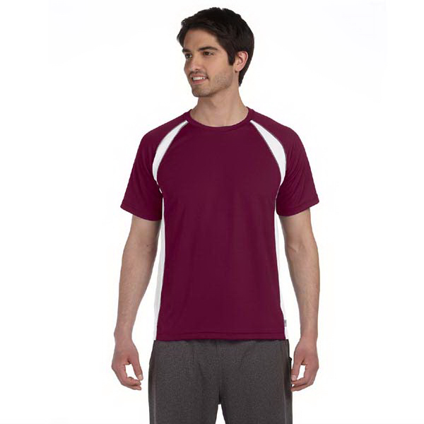 Personalized Alo Men's Short-Sleeve Colorblocked Crew