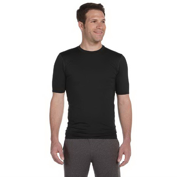 Promotional Alo Men's Short Sleeve Compression T-Shirt