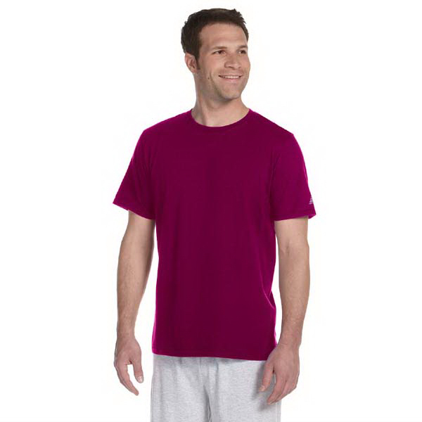 Imprinted New Balance Combed Ringspun Tee
