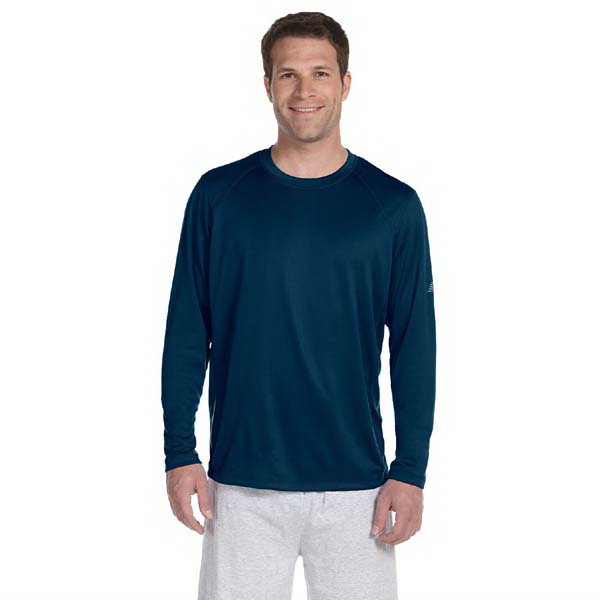 Personalized New Balance Men's Tempo Long Sleeve Performance TShirt