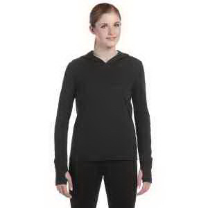 Custom Alo Ladies' Performance Triblend Jersey Long Sleeve Hooded