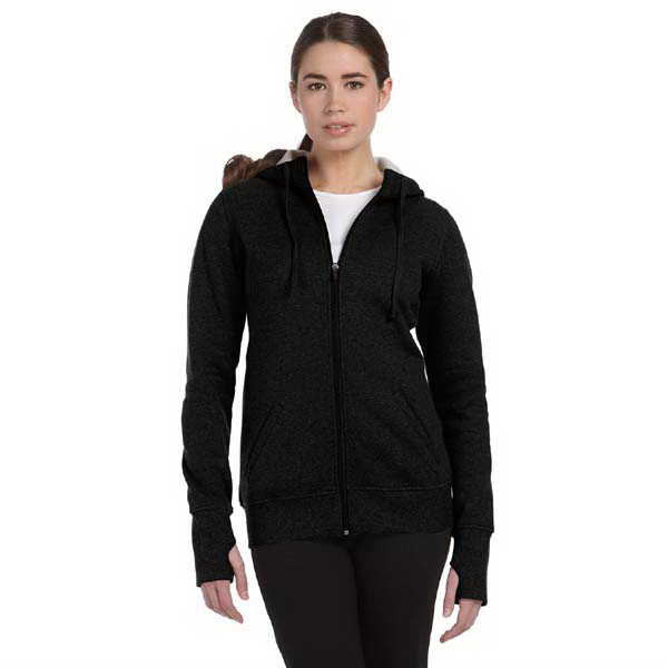 Imprinted Alo Ladies' Performance Fleece Full Zip Hoodie with Runner's