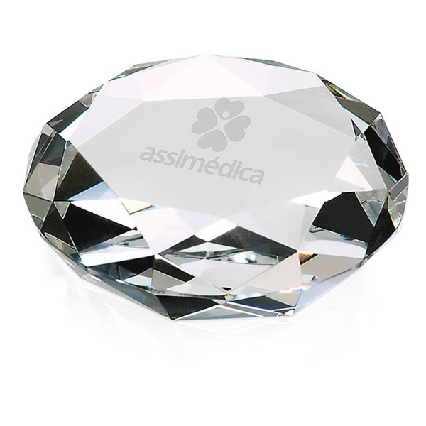 Printed Faceted Paperweight