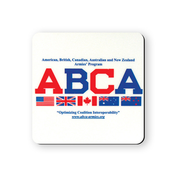 Personalized Coaster - 3 1/2 inches square