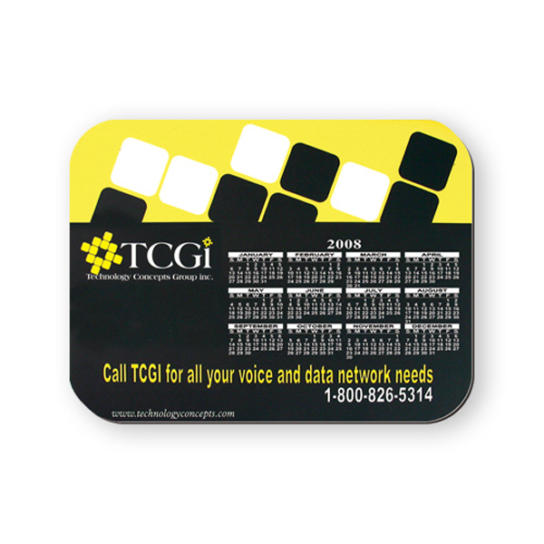 Imprinted Mouse Pad - 6 inches x 8 inches