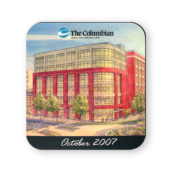 Promotional Mouse Pad - 7 1/2 inches x 8 inches, rectangle
