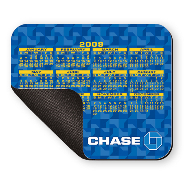 Imprinted Mouse Pad - 8 inches x 9 1/2 inches