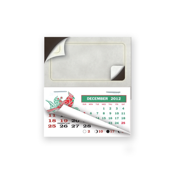 Personalized Peel and Stick calendar pad magnets