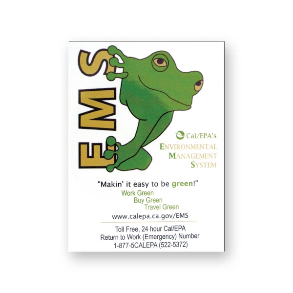 Promotional Stock Magnet - 3 inches x 4 inches rectangle