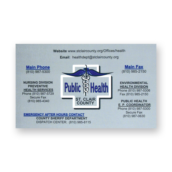 Printed Stock Magnet - 2 1/2 inches x 3 1/2 inches rectangle