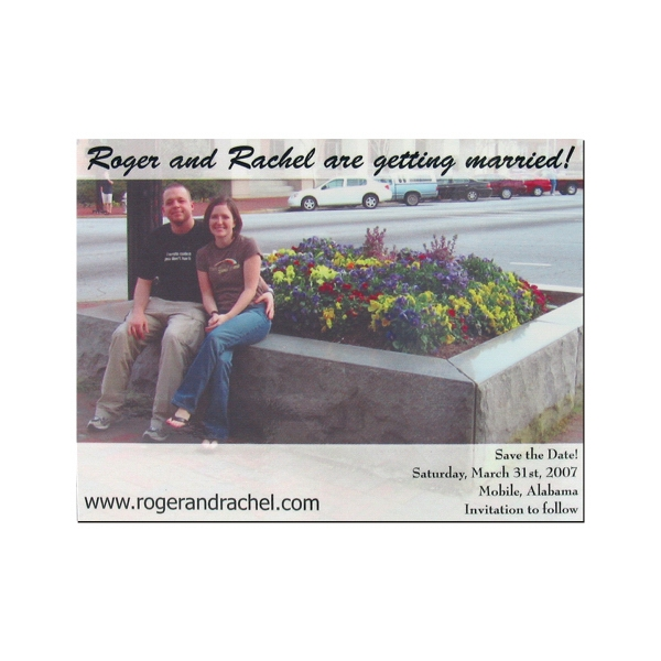 Customized Magnet Calendar- 3 1/2 inches x 4 inches