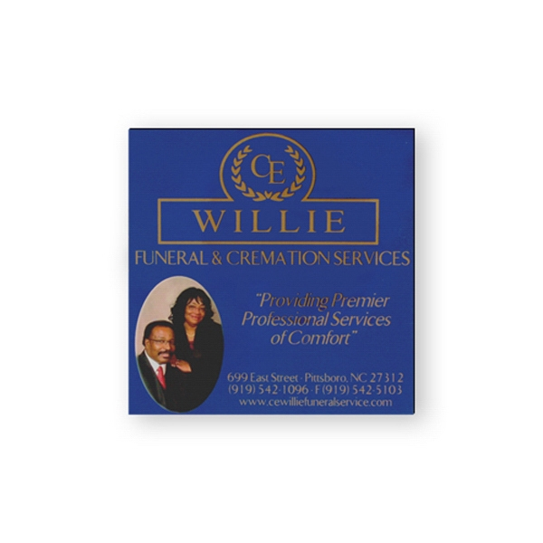 Promotional Stock Magnet - 2 inches square