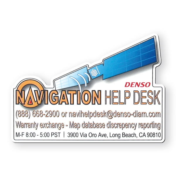 Promotional Vinyl Magnet - 14 - 14.9 square inches