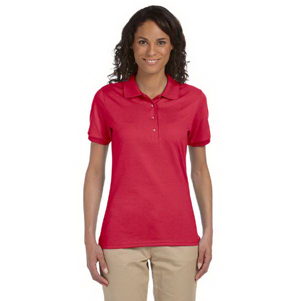 Personalized Ladies' 5.6 oz., 50/50 Jersey Polo with SpotShield (TM)