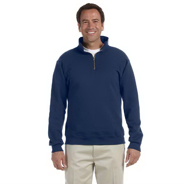Imprinted 9.5 oz. Super Sweats (R) 50/50 Quarter Zip Pullover